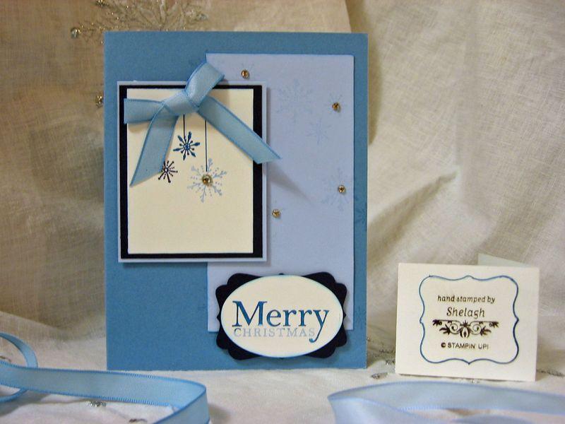 Stamp set -SERENE SNOWFLAKES