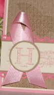 Stamp Out Breast Cancer Card 4piece