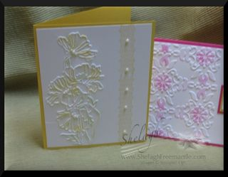 Embossing yellow